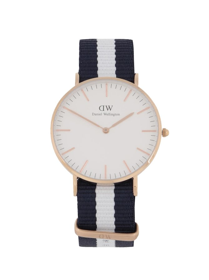 Dámské hodinky ve zlaté barvě CLASSIC Glasgow Daniel Wellington