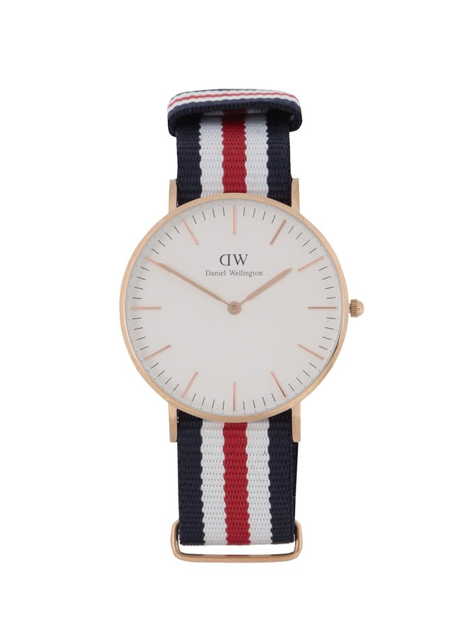 Dámské hodinky ve zlaté barvě CLASSIC Cantebury Daniel Wellington