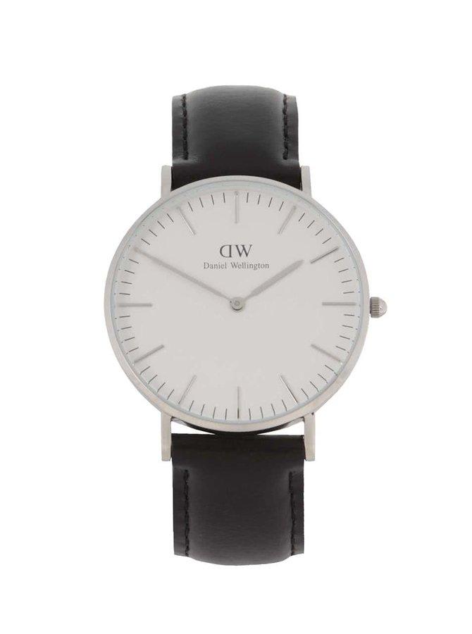 Dámské hodinky ve stříbrné barvě CLASSIC Sheffield Daniel Wellington