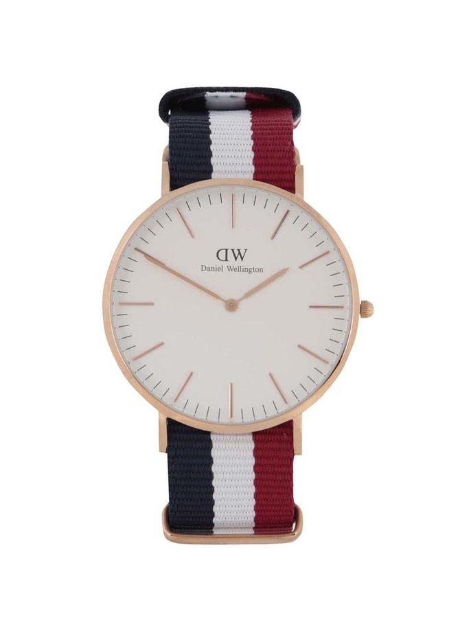 Pánské hodinky ve zlaté barvě CLASSIC Cambridge Daniel Wellington