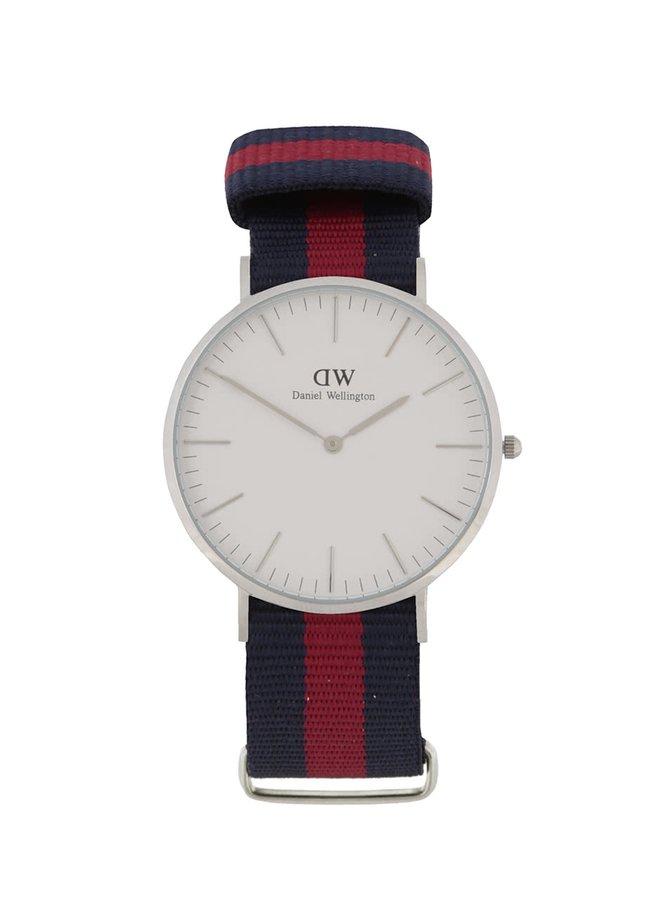 Ceas roșu & albastru Daniel Wellington CLASSIC Oxford pentru bărbați