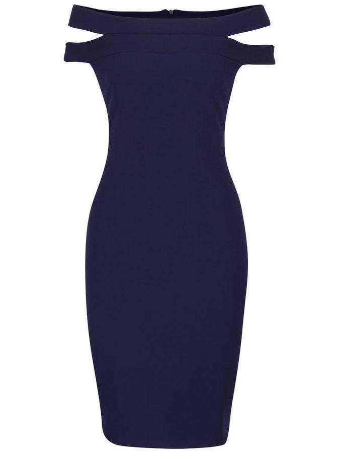 Rochie albastru închis Goddiva