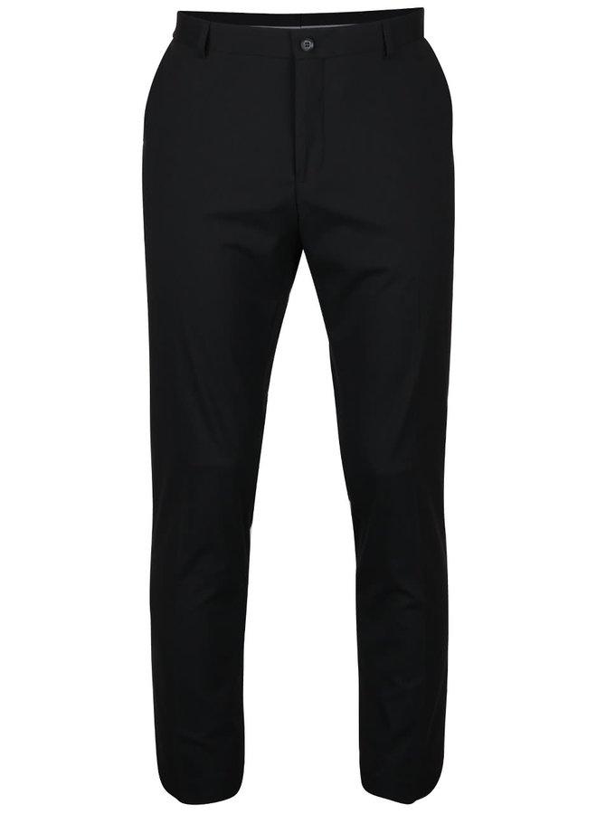 Černé oblekové kalhoty Selected Homme Newone