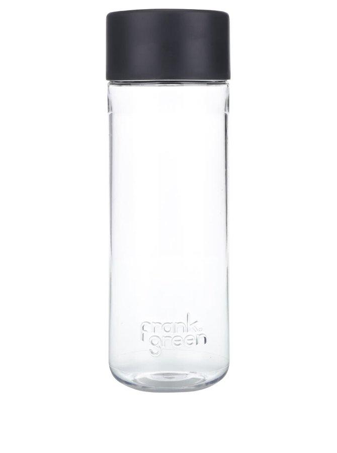 Láhev na vodu SmartBottle s tmavě šedým víčkem Frank Green 740 ml