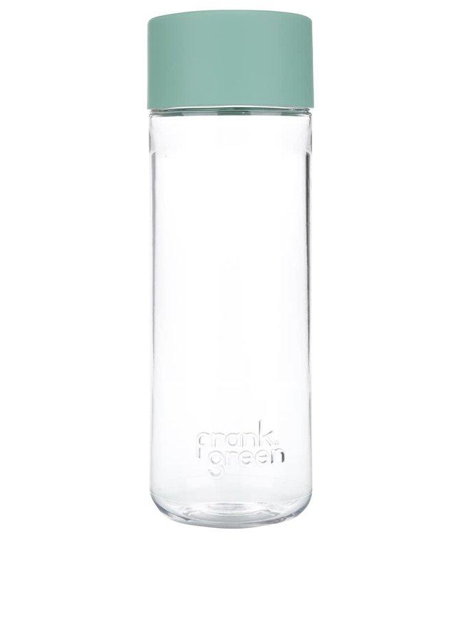 Láhev na vodu SmartBottle se zeleným víčkem Frank Green 740 ml