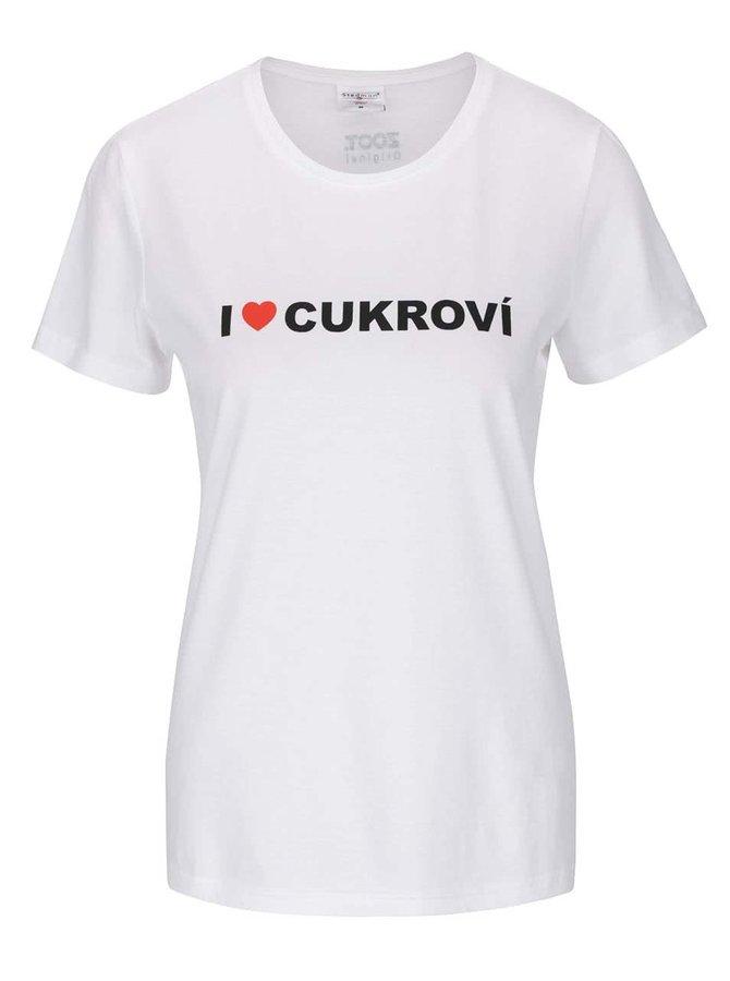 Dámske tričko ZOOT Originál I ♥ CUKROVÍ