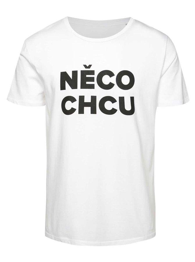 Bílé pánské triko ZOOT Originál Něco chcu