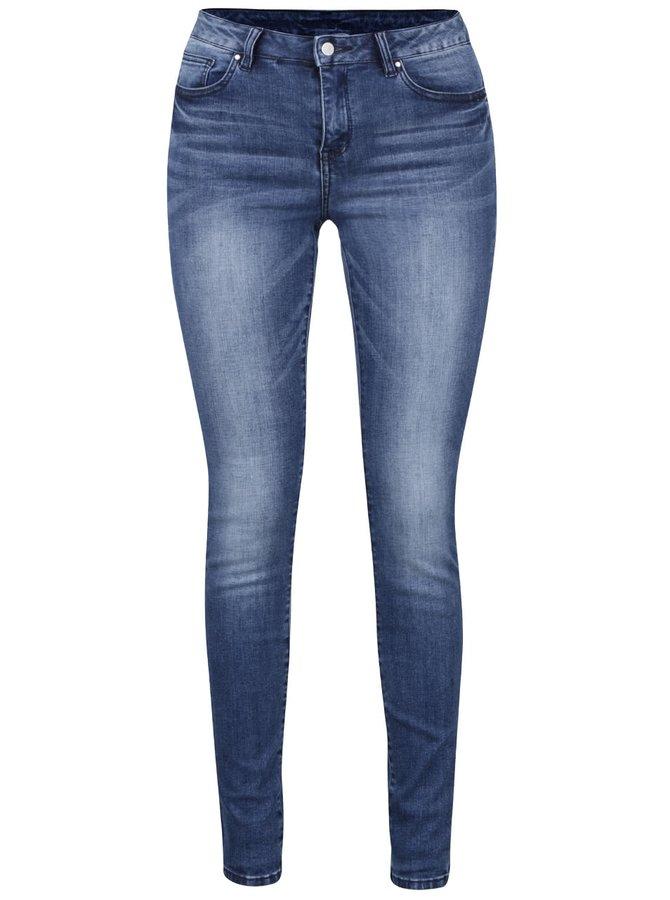 Modré slim fit džíny VILA Commit