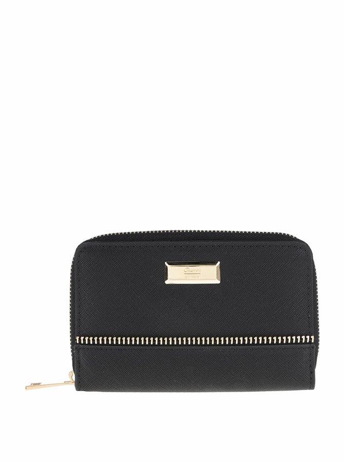 Čierna dámska peňaženka so zipsom Gionni Luana