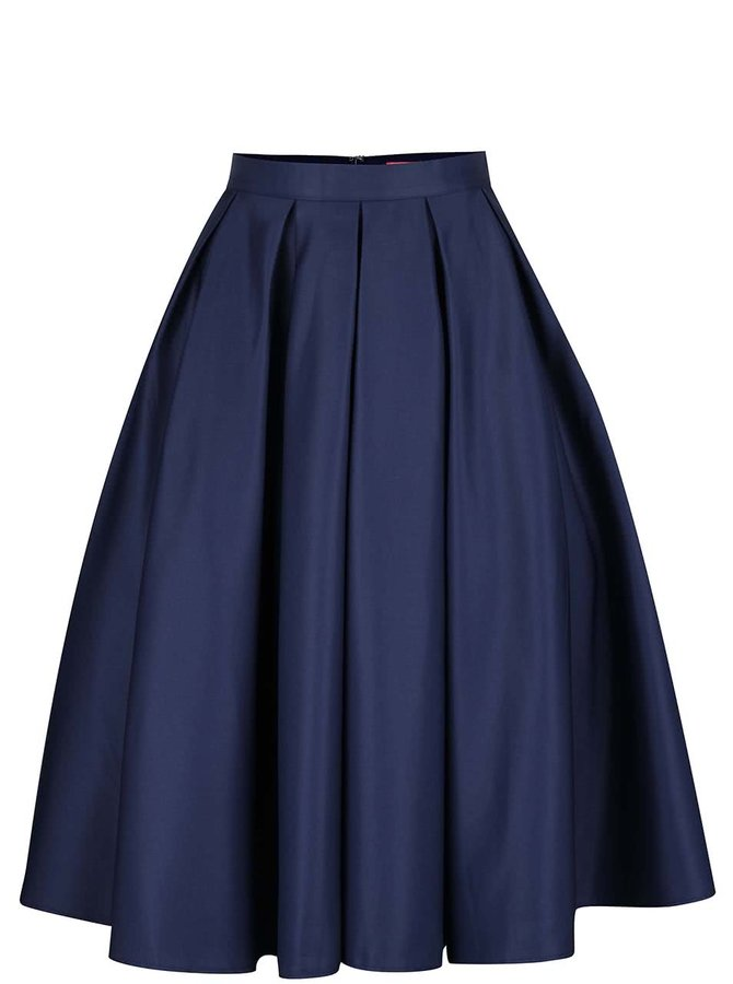 Tmavě modrá sukně Chi Chi London