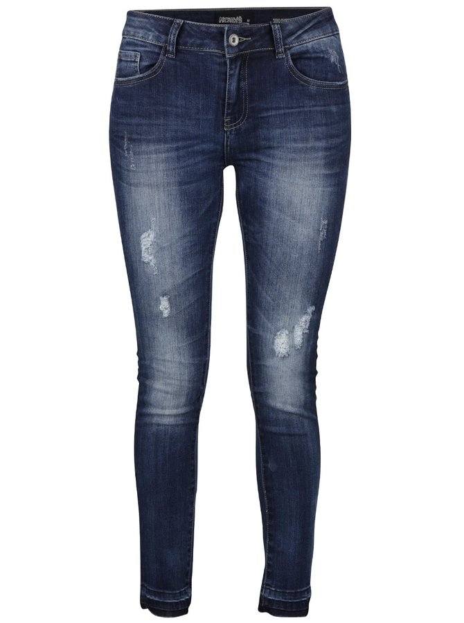 Modré džíny s potrhaným efektem Haily´s Emilie