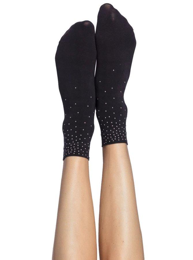 Čierne ponožky s aplikáciou Oroblu Next