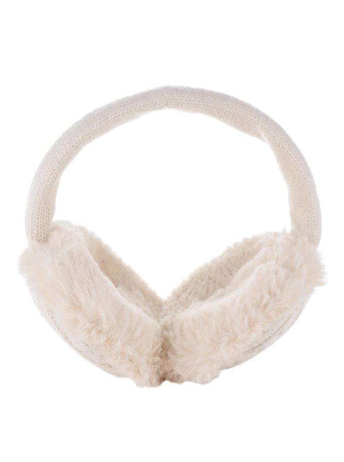 Căști crem de iarnă pentru urechi Something Special