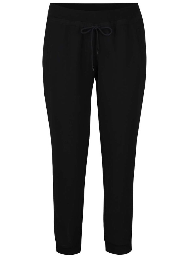 Pantaloni negri cu șiret s.Oliver