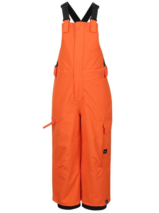 Salopetă pentru ski portocalie Quiksilver