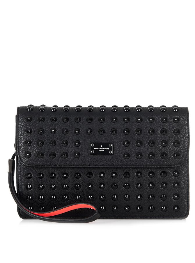 Černá crossbody kabelka s aplikací Paul's Boutique Veronica