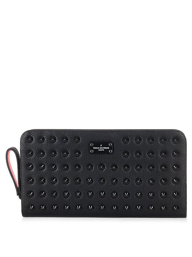 Černá peněženka s aplikací Paul's Boutique Carla