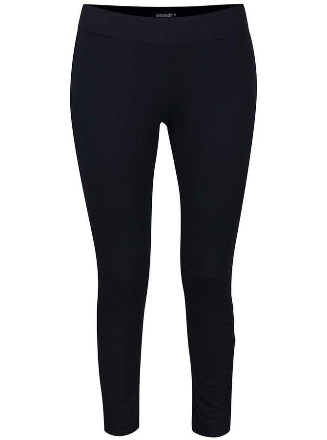 Tmavě modré legíny s prošívanými koleny Haily´s Liora