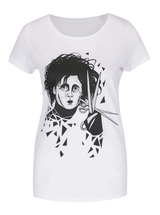 Bílé dámské tričko ZOOT Originál Edward