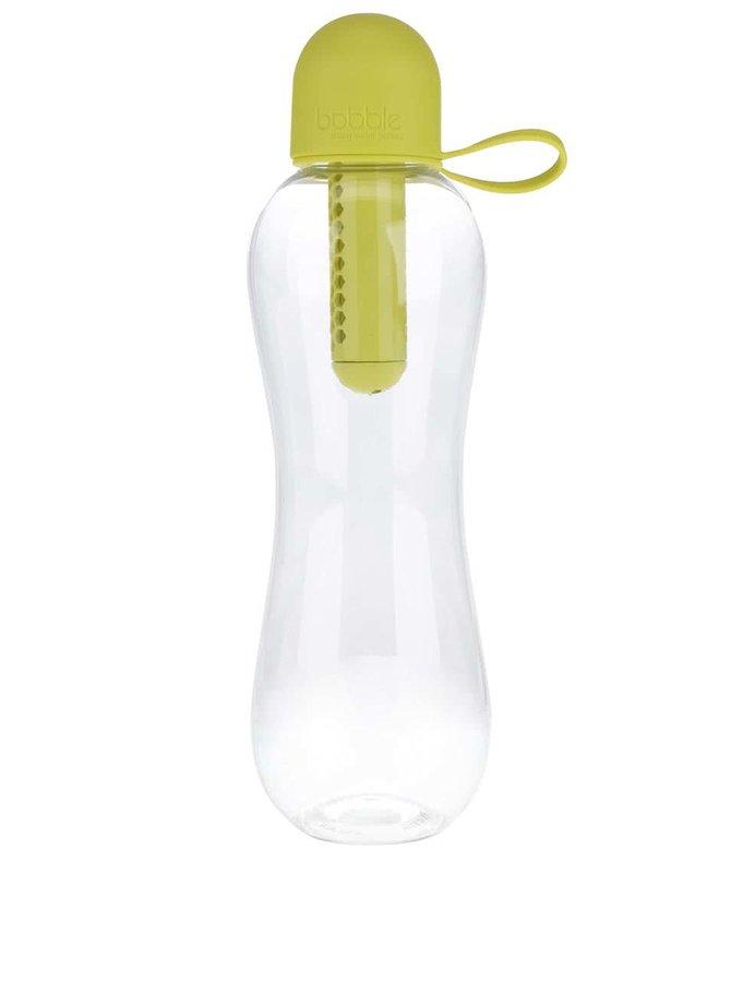 Sticlă cu filtru și capac galben bobble