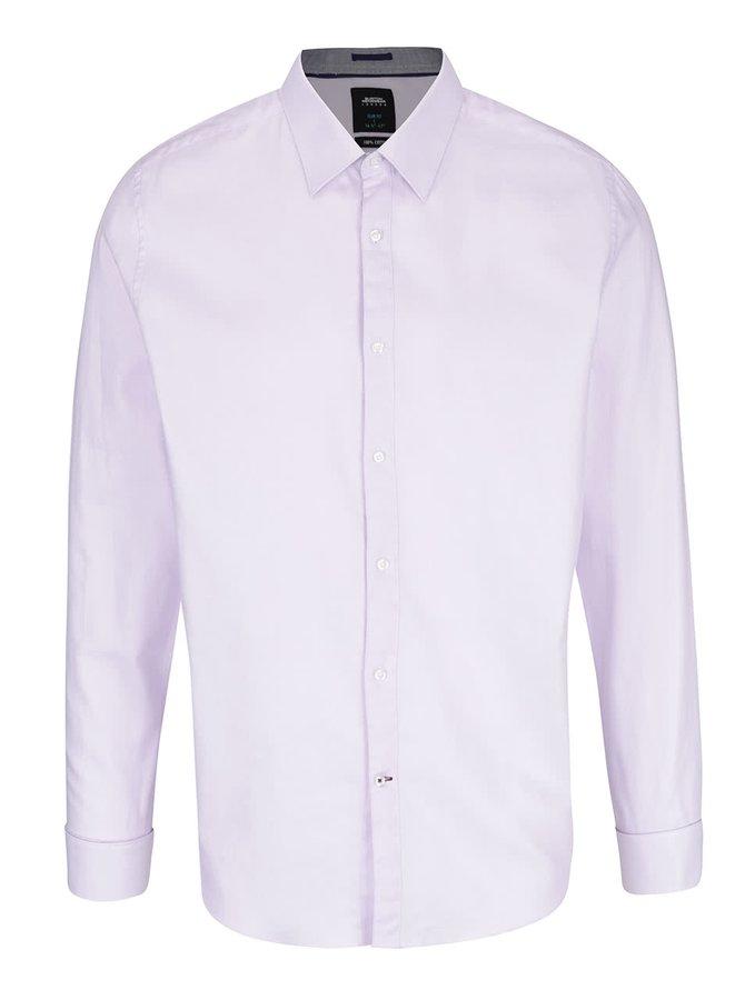 Světle fialová formální košile Burton Menswear London