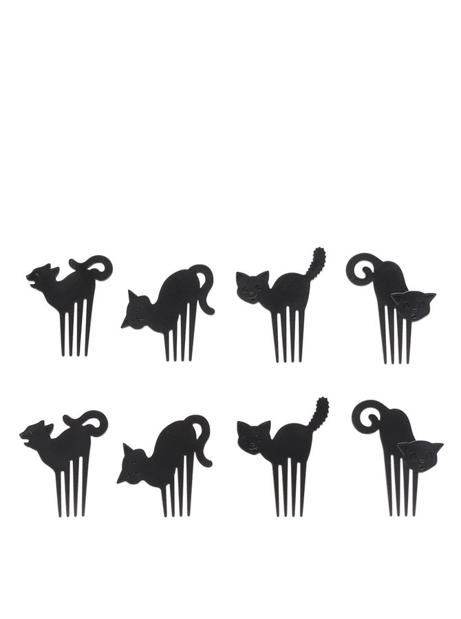 Súprava napichovadiel na jednohubky v tvare mačiek Kitchen Craft