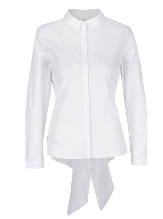 Biela košeľa s mašľou Miss Selfridge