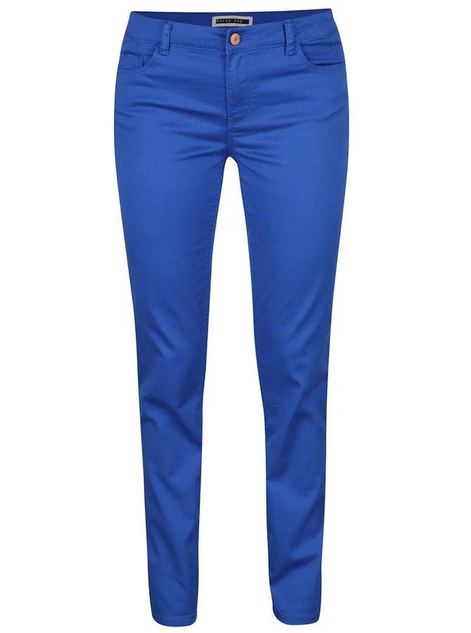 Modré slim fit kalhoty Noisy May Extreme
