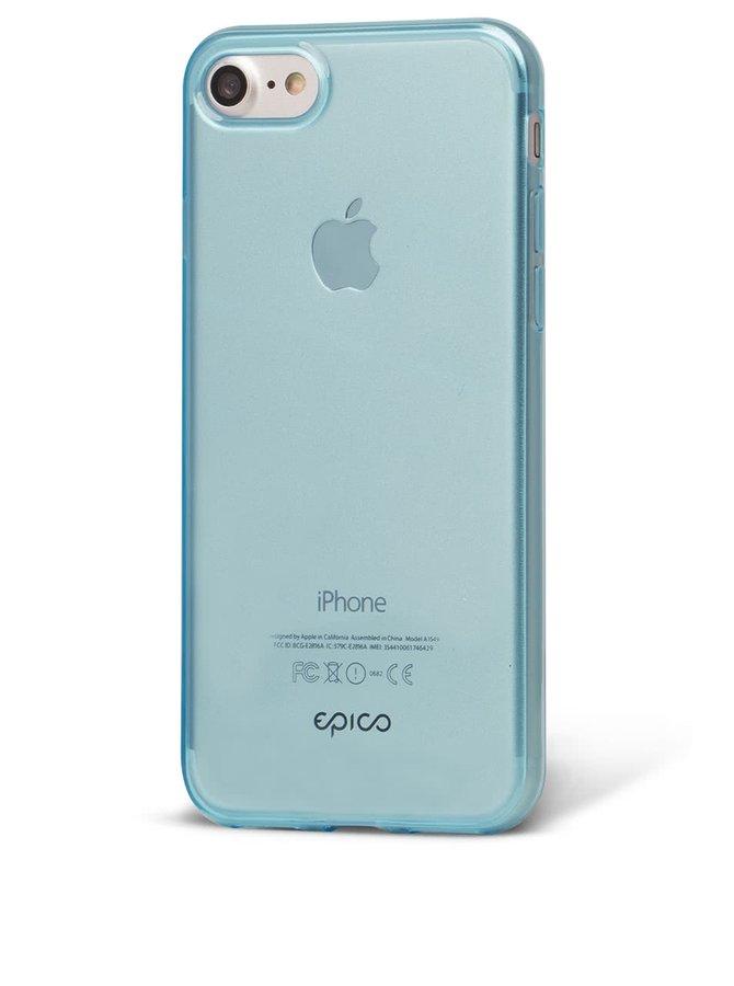 Modrý průhledný ultratenký plastový kryt pro iPhone 7 EPICO TWIGGY GLOSS