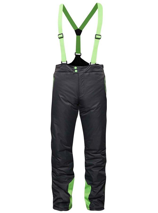 Šedo-zelené vzorované klučičí zimní kalhoty 5.10.15.