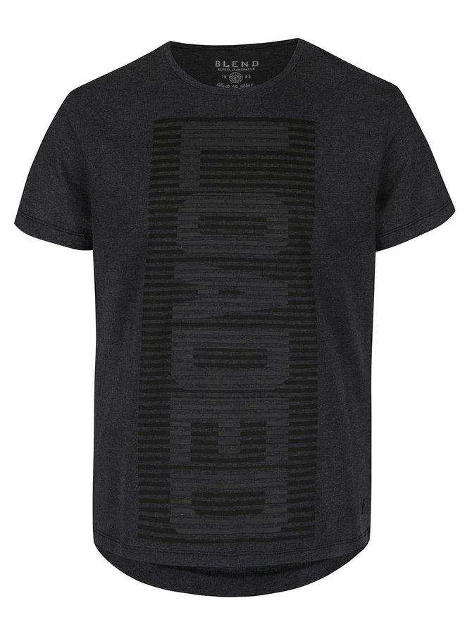 Šedé triko s krátkým rukávem Blend