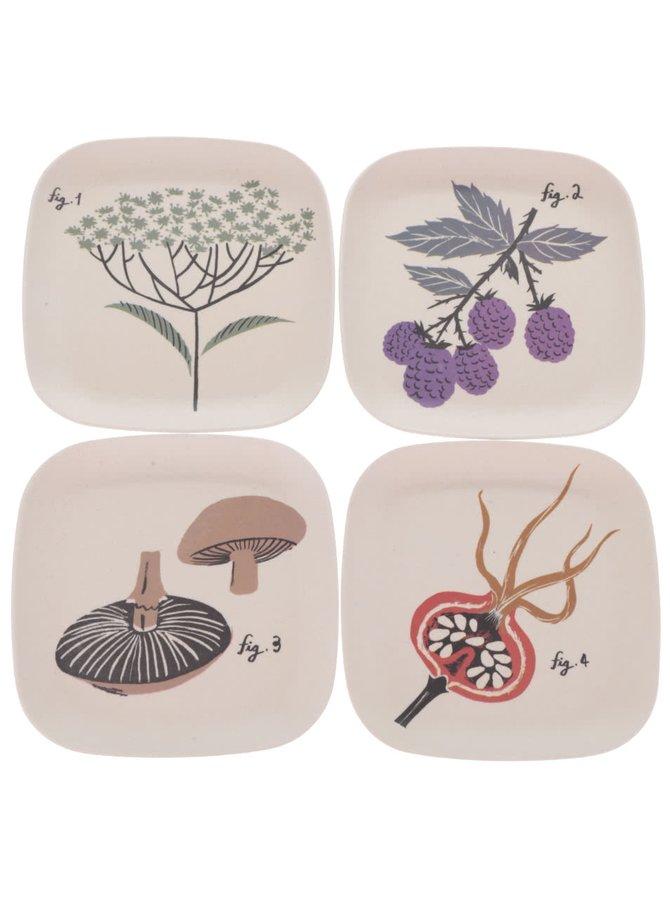 Sada bambusových talířů Catch-all Trays Magpie