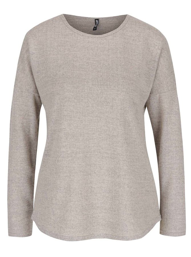 Béžový žíhaný lehký svetr Haily´s Elisa