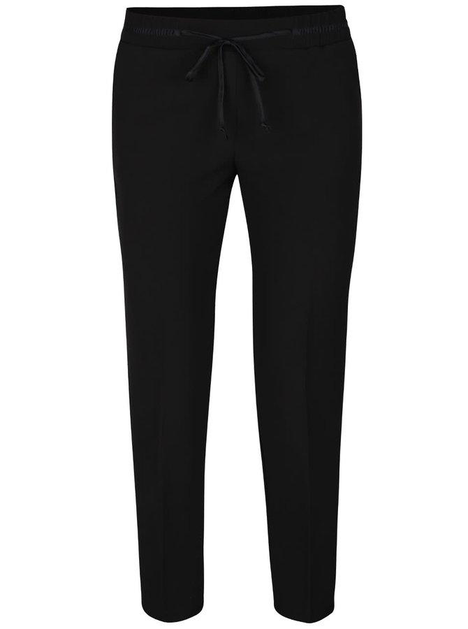 Čierne osminkové nohavice s mašľou TALLY WEiJL