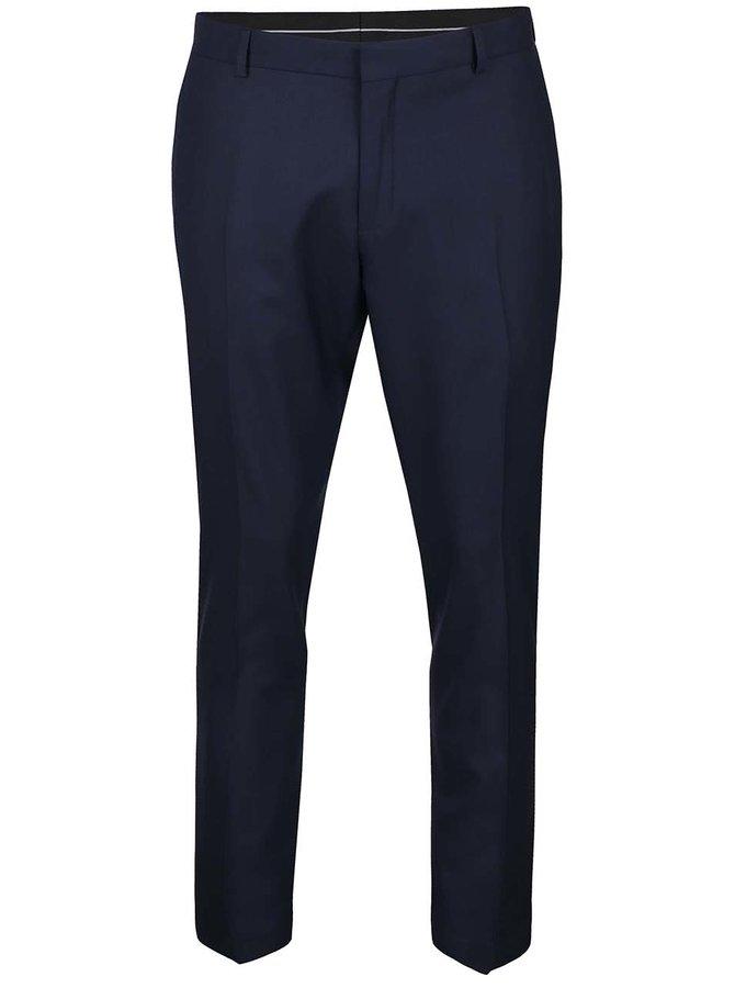 Tmavě modré formální kalhoty Selected Homme Done Taxluke