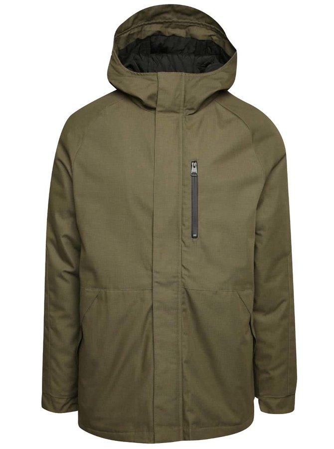 Khaki pánská bunda s kapucí Ragwear Sam