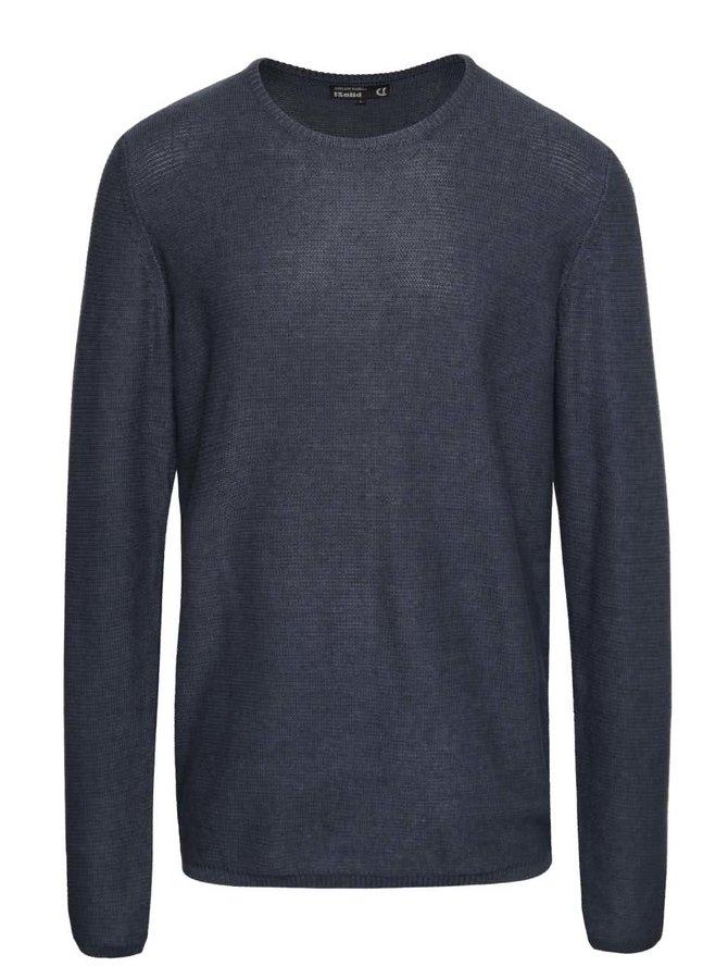 Modrý svetr !Solid Francois