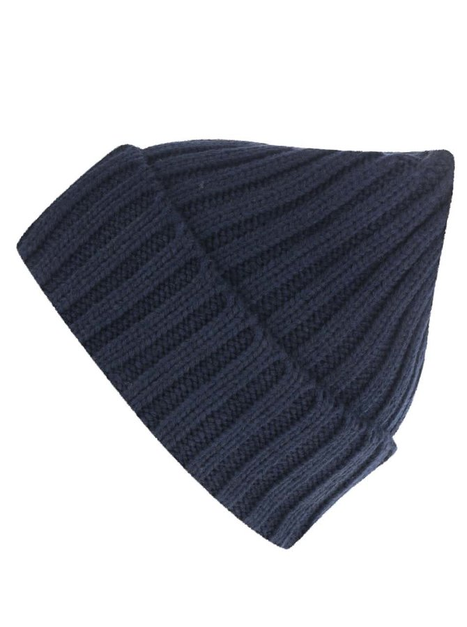 Modrá zimní čepice !Solid Destry