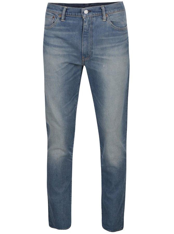 Modré pánské slim džíny s vyšisovaným efektem Levi's® 511™