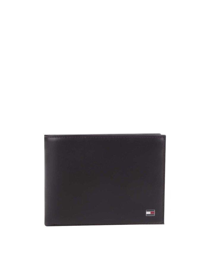 Tmavě hnědá pánská kožená peněženka Tommy Hilfiger