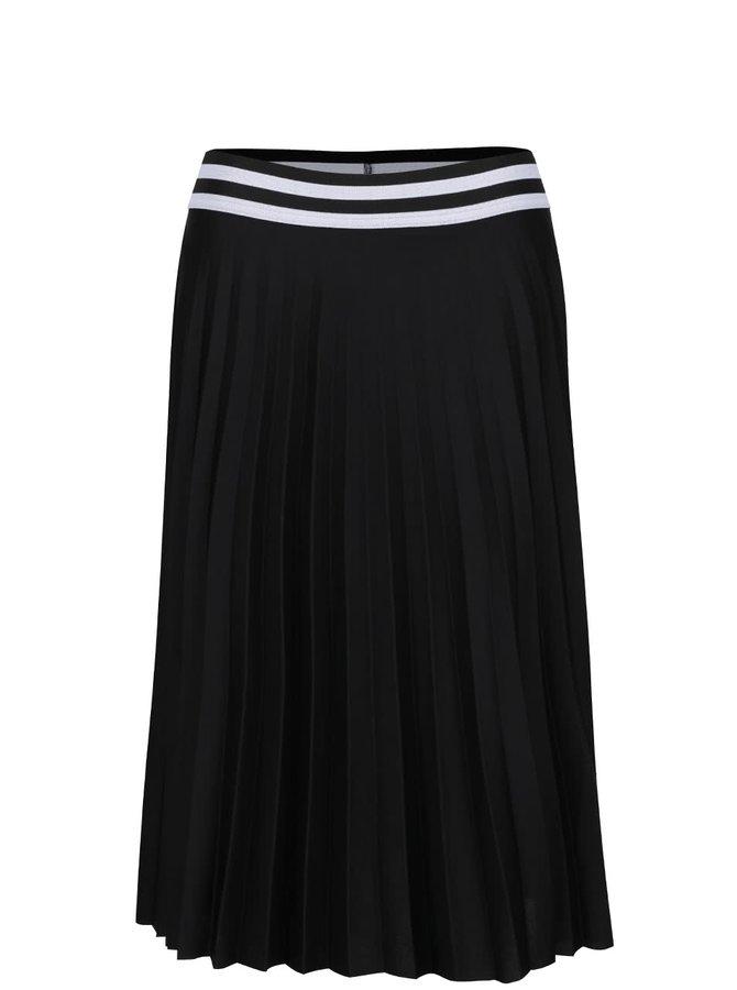 Černá plisovaná sukně VILA Metro