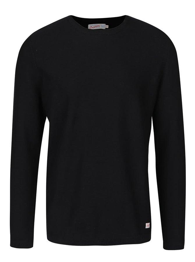 Černý lehký svetr Jack & Jones Argo