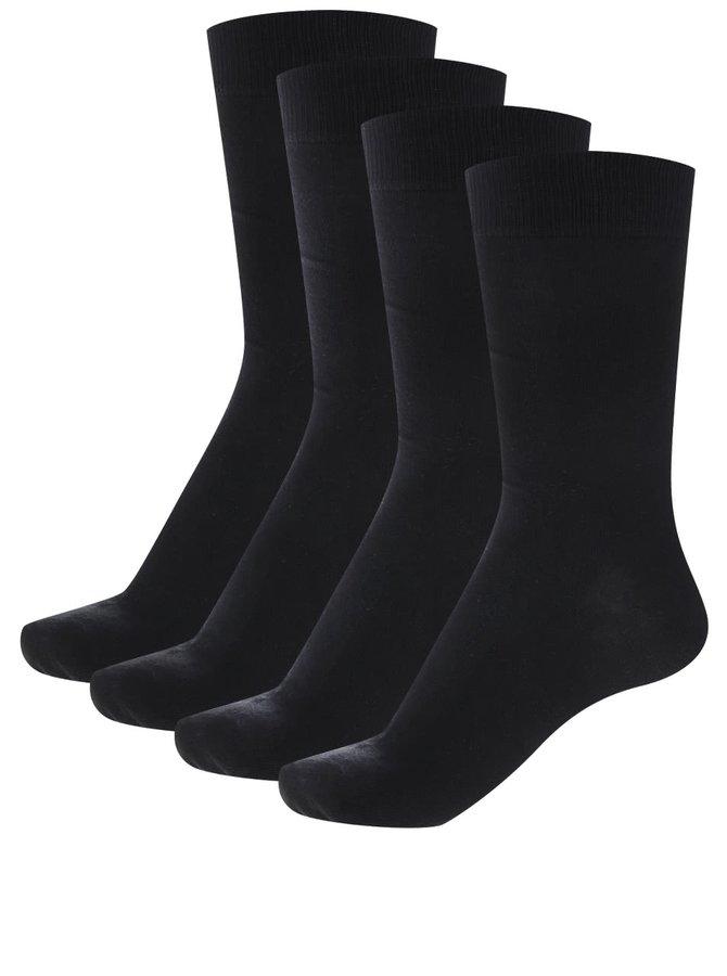 Set de 2 perechi de șosete negre Jack & Jones Jens