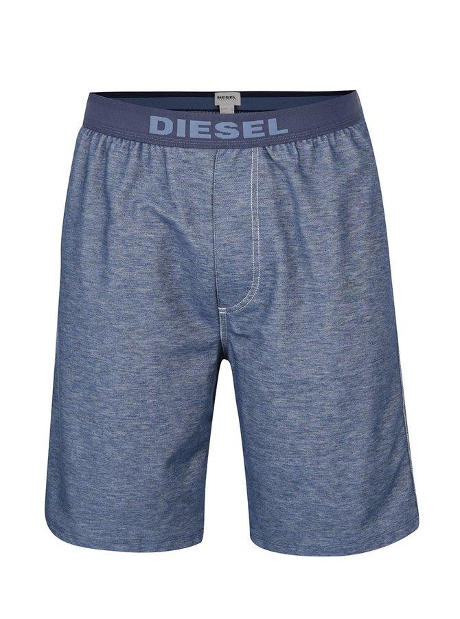 Tmavě modré pánské kraťasy Diesel