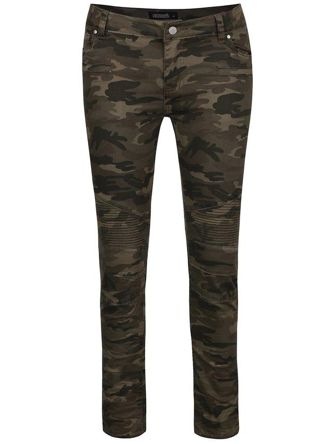 Khaki maskáčové džíny Haily´s Cammy