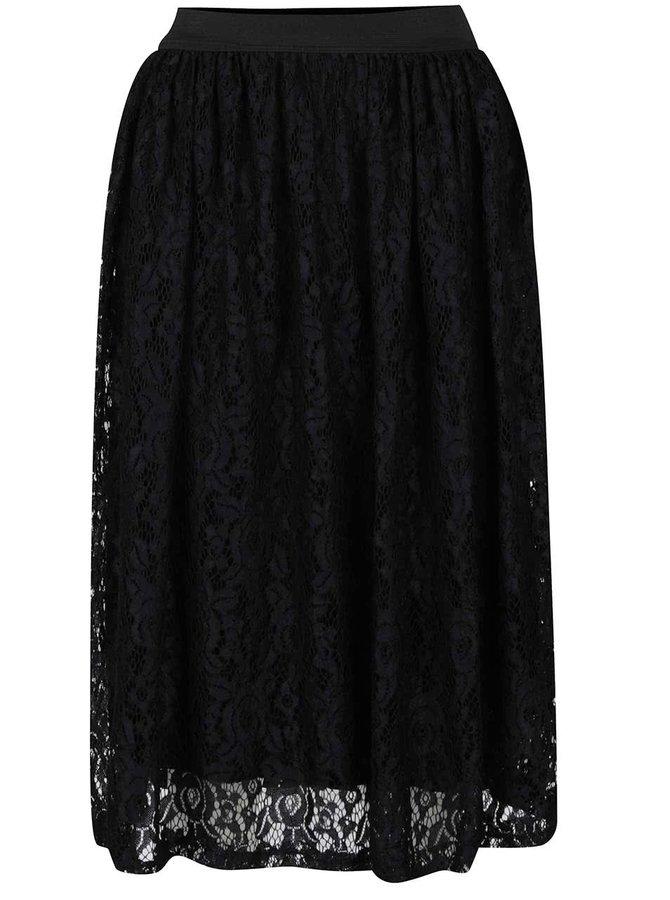 Černá krajková sukně Alchymi Maeva