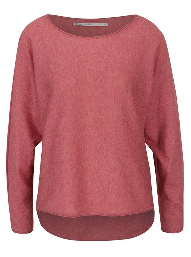 Červený lehký svetr ONLY Anita