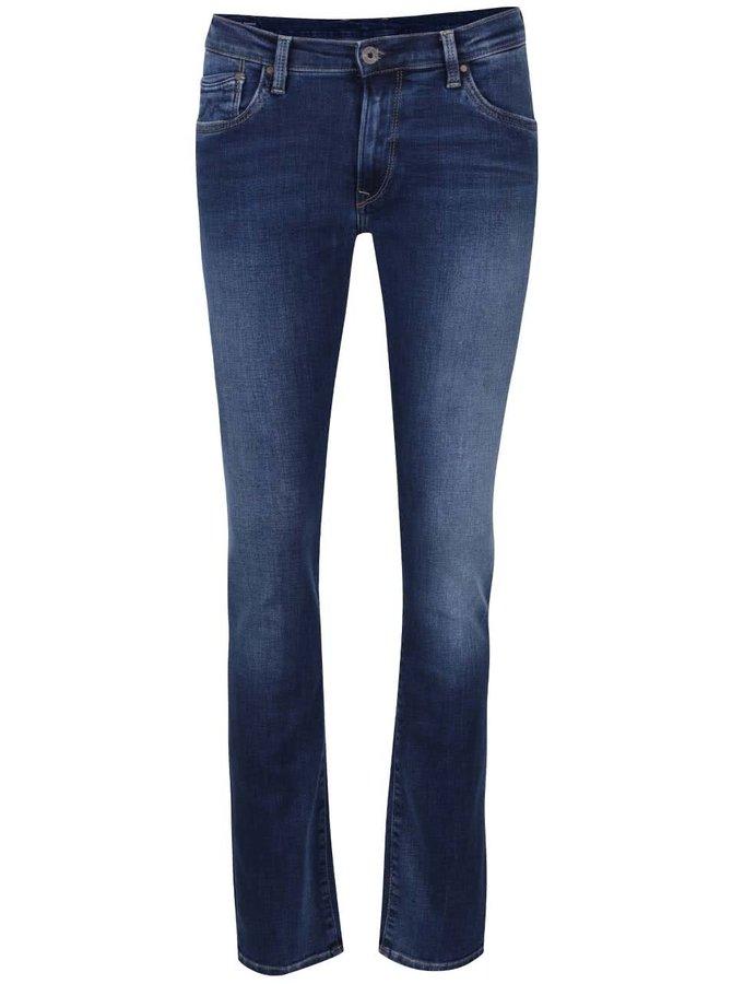 Jeanși regular fit albastru închis Pepe Jeans Victoria