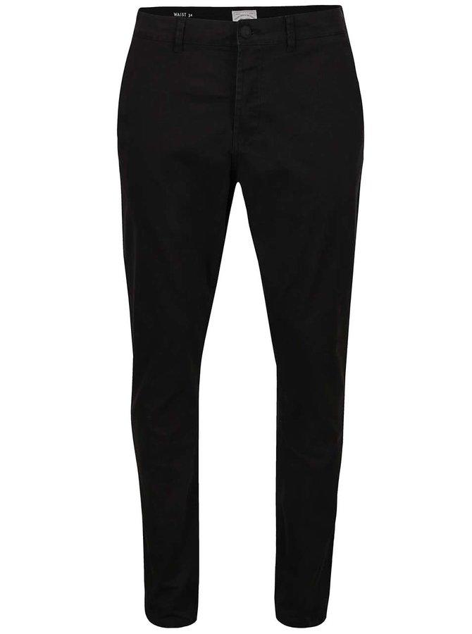 Pantaloni Chino negri ONLY & SONS Sharp