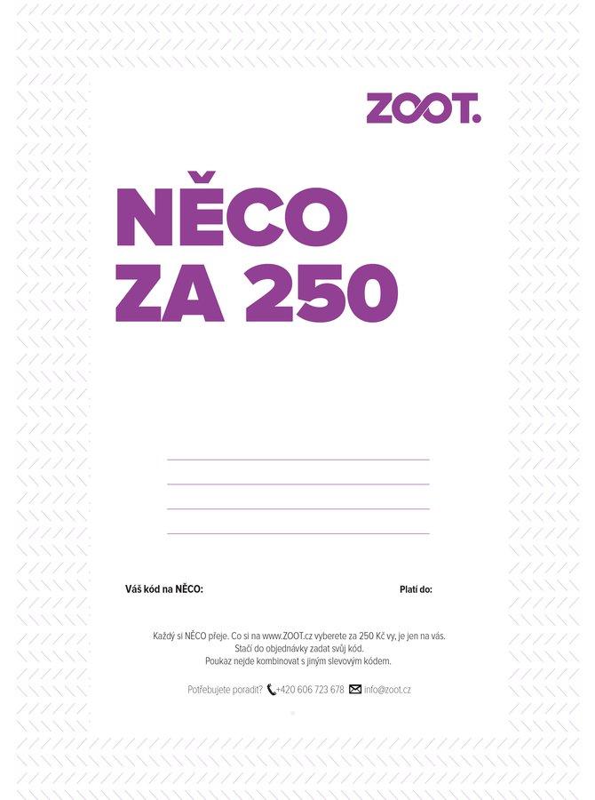 Elektronický poukaz na NĚCO ze ZOOTu v hodnotě 250 Kč